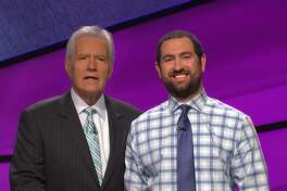 Graydon Mears, an analytics director in San Antonio, will join host Alex Trebek on 'Jeopardy' today, when he'll compete for potentially big money.