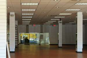 A view inside one of the empty retail spaces at Hawley Lane Mall in Trumbull, Conn., on Thursday Mar. 29, 2017. A nearly 10,000-square-foot space in the Hawley Lane shopping mall vacated by clothing retailer Joyce Leslie last year will soon be occupied by teen and pre-teen chain Five Below.
