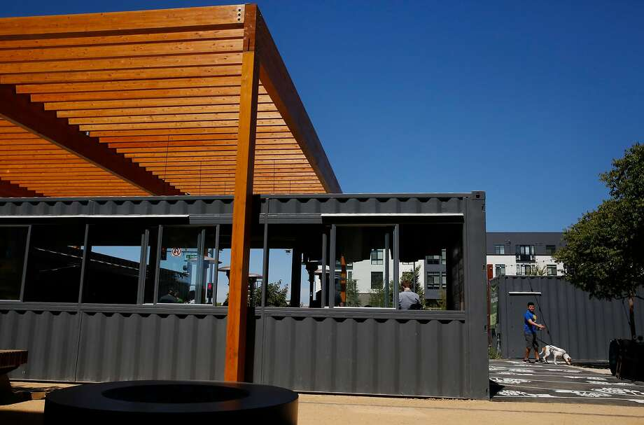 Fieldwork Brewing Co.'s San Mateo beer garden opened in early July. Photo: Leah Millis, The Chronicle