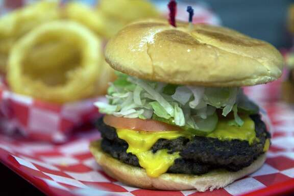 Mad Mack's Burger Co. took this year's Readers' Choice award for Best Burger Nonchain. Shown is the South Side diner's double cheeseburger.