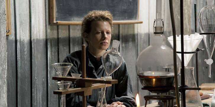 "Karolina Gruszka stars in ""Marie Curie: The Courage of Knowledge."""