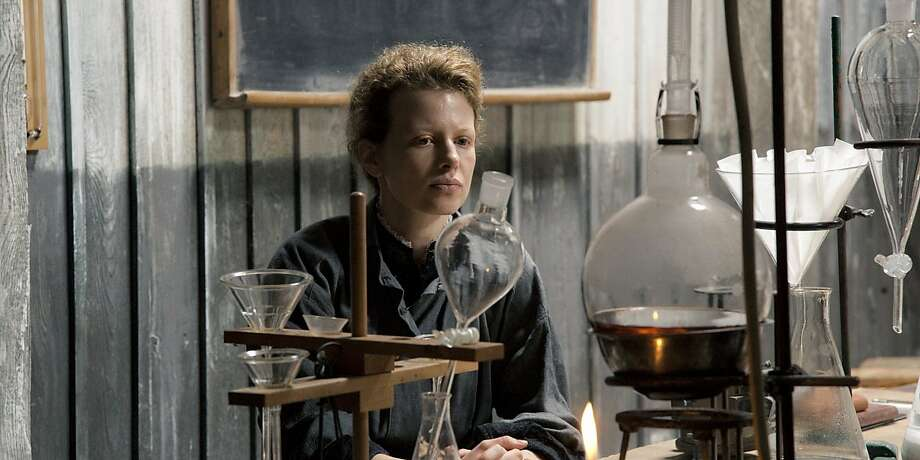 "Karolina Gruszka stars in an oddly lifeless ""Marie Curie: The Courage of Knowledge."" Photo: Society Films"