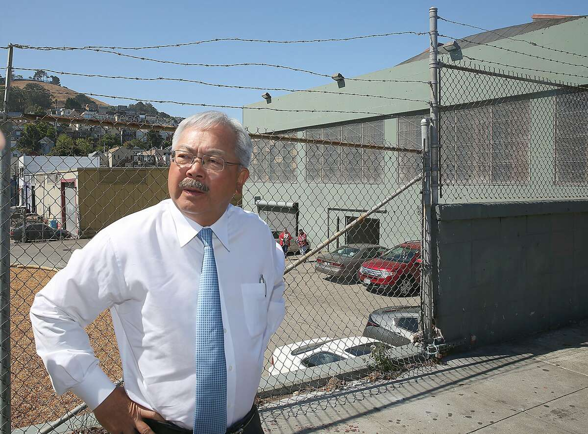 """San Francisco Mayor Ed Lee, seen months before his death in 2017, reportedly was given the code name """"35"""" by two of the key subjects of an alleged pay-to-play scheme at City Hall."""