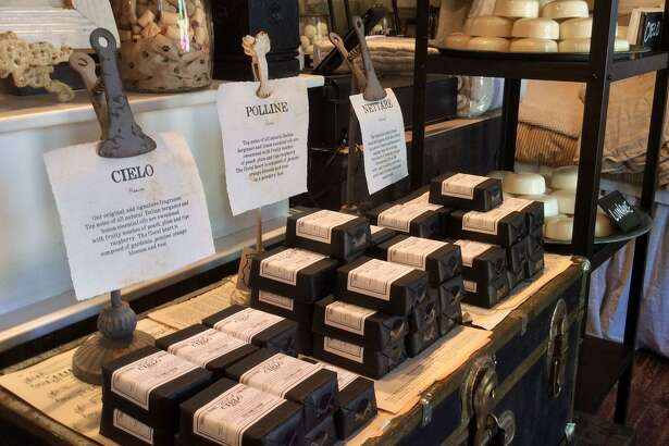 Cielo in Boerne offers home decor, fine linens and elegant soaps.