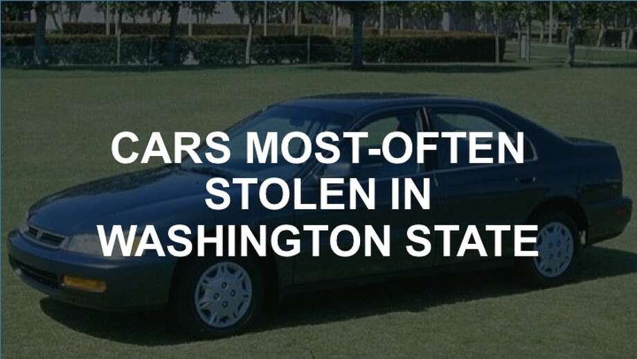 Take a look at the cars most-often stolen in Washington state, as ranked in a National Insurance Crime Bureau released July 12.
