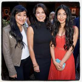 Elle Women in Tech honorees (from left) Jess Lee, Belinda Johnson and Shiza Shadid at Wayfare Tavern. July 12, 2017.