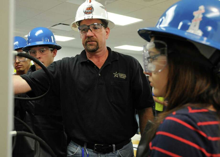 Houston's Lone Star Corporate College is looking for qualified candidates to train the next generation of workers in oil and gas, energy, health care, information technology, construction, manufacturing and transportation. Photo: Lone Star College