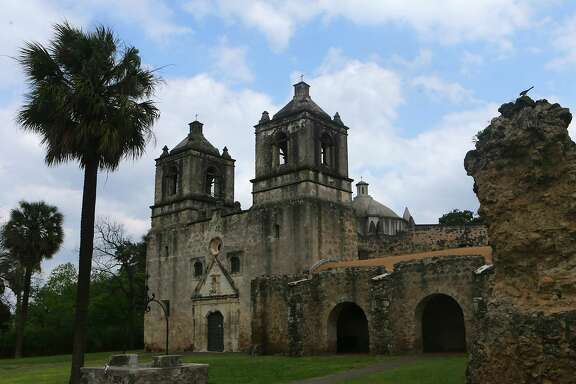 Although four of the buildings would exceed Mission Protection Overlay height limits by up to 11 feet, 210 Development Group says that none of the structures would be visible from in front of Mission Concepción.