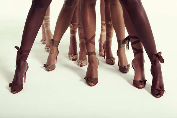 "4b33d4eb975f 1of6Christian Louboutin s latest ""Nudes"" collection features a platform"
