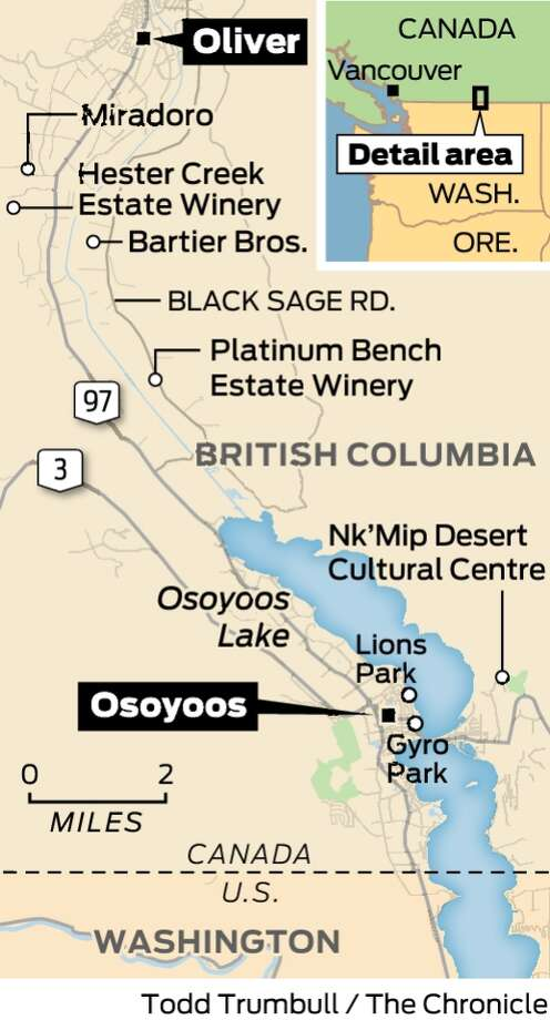 One Day One Place Oliver Osoyoos Wine Country B C
