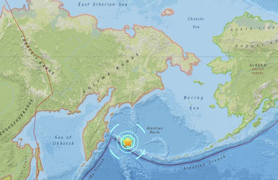 Magnitude 77 earthquake strikes near Nikolskoye Russia  SFGate