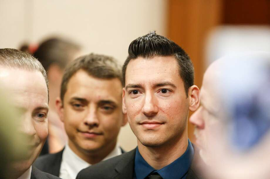 David Daleiden, a defendant in an indictment stemming from a Planned Parenthood video he helped produce, arrives for court at the Harris County Courthouse after surrendering to authorities on February 4, 2016 in Houston, Texas. Photo: Eric Kayne/Getty Images
