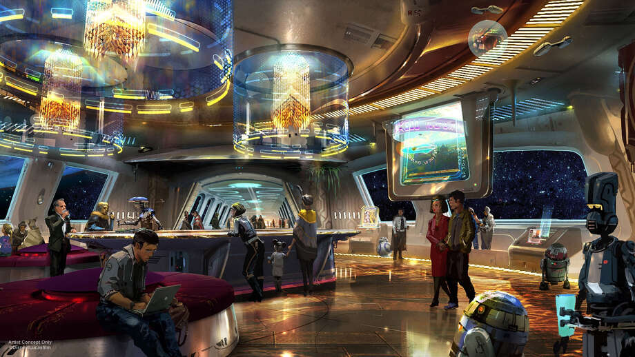 During D23 Expo 2017, Walt Disney Parks & Resorts Chairman Bob Chapek announced plans to create the most experiential concept ever in an immersive Star Wars-themed hotel at Walt Disney World Resort. Dedicated entirely to the galaxy of Star Wars, it will be a one-of-a-kind experience where a luxury resort meets a multi-day adventure in a galaxy far, far away. Photo: Joshua Sudock/Disneyland Resort