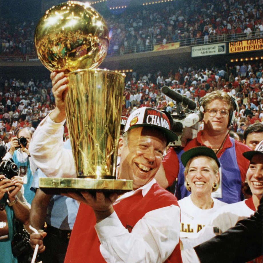 The Rockets won the NBA championship in 1994 and '95. / Houston Chronicle