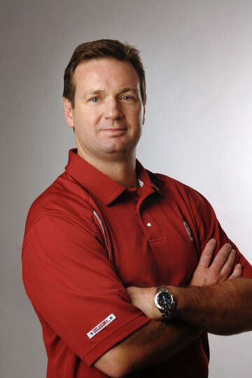 Bob Stoops missing from Big 12 gathering, but former coach ...