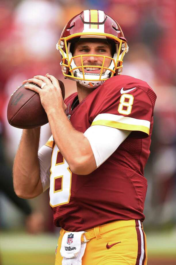 LANDOVER, MD - OCTOBER 2: Quarterback Kirk Cousins #8 of the Washington Redskins warms up prior to a game against the Cleveland Browns at FedExField on October 2, 2016 in Landover, Maryland. (Photo by Mitchell Layton/Getty Images) ORG XMIT: 659523061 Photo: Mitchell Layton / 2016 Getty Images