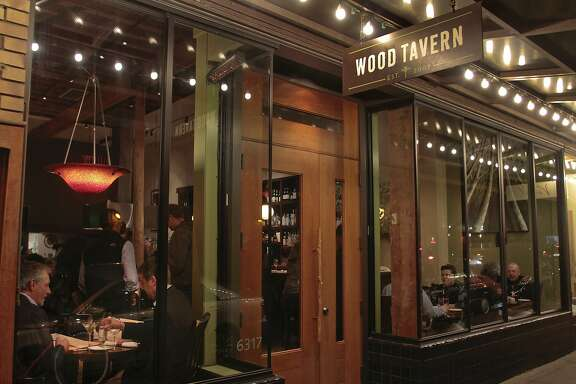 The Wood Tavern in Oakland, Calif.,  is seen on Thursday, January 27th,  2011.