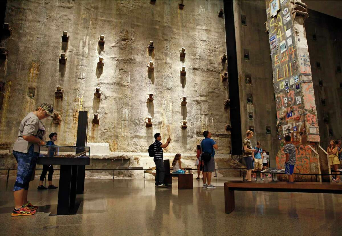 Foreign visitors to the National September 11 Memorial and Museum are up slightly over last year, part of a surprising increase in tourism to the U.S. as a whole during the same period in 2016.
