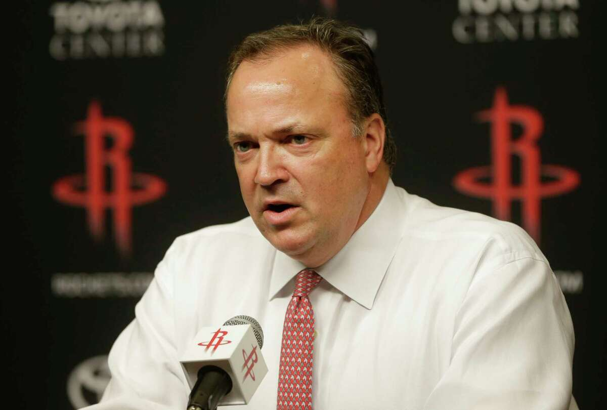 Rockets president Tad Brown announced the intentions of Leslie Alexander to sell the team after 24 years of ownership.