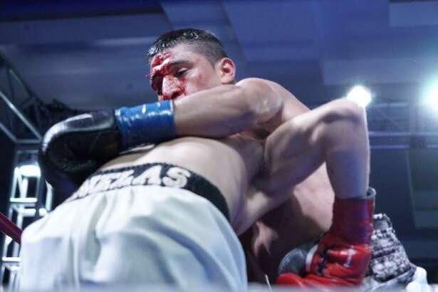 Polo Martinez suffered his first professional loss Saturday falling by technical knockout in the fifth round of his rematch with Max Ornelas.