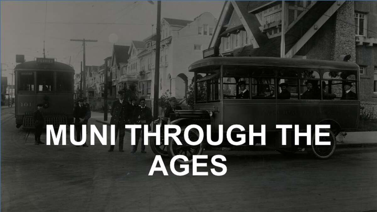The San Francisco Municipal Railway - and its associated bus lines - have a long and fascinating history. Click through the gallery to see photos from our archives.