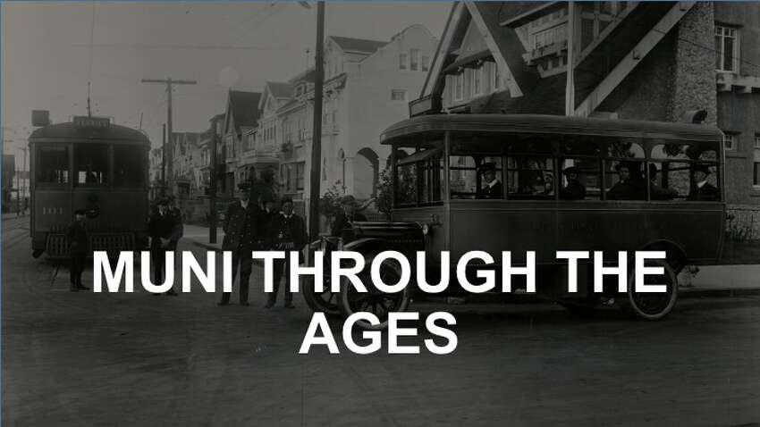 The San Francisco Municipal Railway - and its associated bus lines -have a long and fascinating history. Click through the gallery to see photos from our archives.