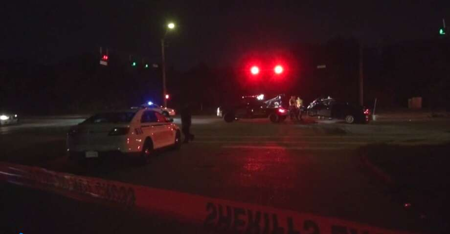 Police are investigating a two-car crash that happened early Tuesday on State 249 and left one man dead. (Metro Video) Photo: Metro Video