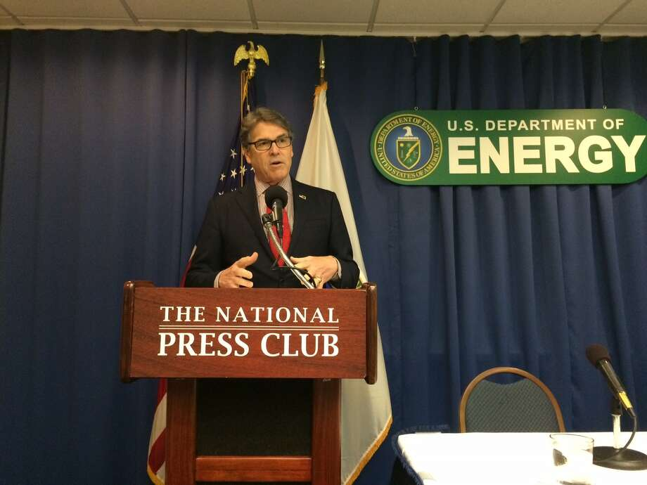 Energy Secretary Rick Perry at National Press Club on July 18,2017. (PHOTO: James Osborne)