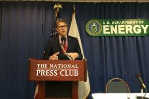 Energy Secretary Rick Perry at National Press Club on July 18,2017. (PHOTO: James Osborne)