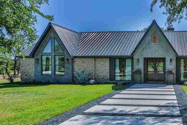 """A Modern ranch at 198 Quail Meadow in China Spring was redesigned on """"Fixer Upper"""" by Chip and Joanna Gaines and is now for sale for $565,000."""