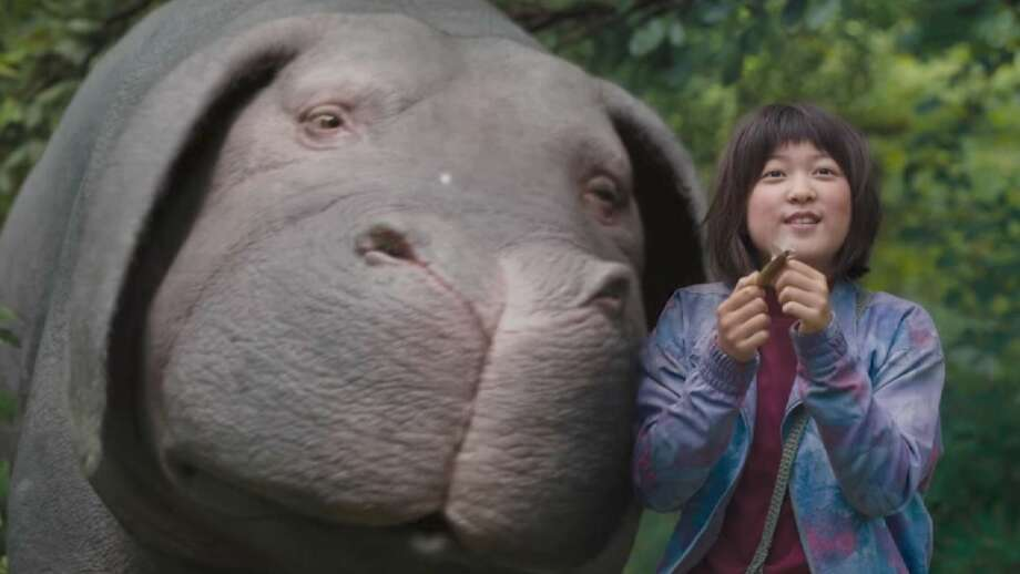 "Danny Minton found the Netflix project ""Okja"" a wildly creative story which is well-told with impressive CG effects."