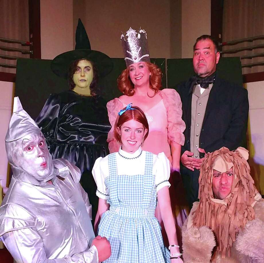 "Playwright Bernard J. Taylor's musical comedy ""Backstage at Oz"" -- starring, clockwise from left, Nicole Erwin, Whitney Marlett, Richard C. Solis, Dave Cortez, Jayme Seward and Jose DeHoyos -- follows the colorful cast of a stage production of ""The Wizard of Oz."" The show includes some adult content. It is a joint production of Aria Creative Productions and Taylored Wright Productions.8 p.m. Thursdays-Saturdays -- with a matinee at 3 p.m. July 23 -- through July 29. Woodlawn Pointe, 702 Donaldson. $15-$20 at brownpapertickets.com.-- Deborah Martin Photo: Courtesy Photo"