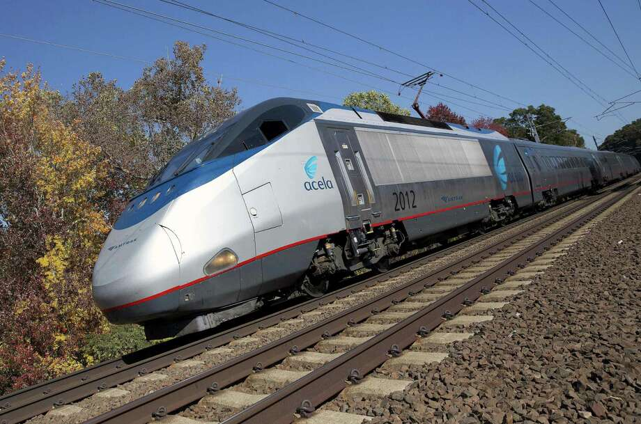 The Federal Railroad Administration's plans to build a high-speed rail between Washington and Boston could change the landscape in Fairfield County communities along Interstate 95. Photo: Michael Dwyer / Associated Press / Copyright 2016 The Associated Press. All rights reserved.