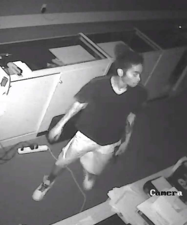 People with information that could lead to the arrests of five men who broke into a west Houston gun store in June could get a $12,000 reward. The bureau of Alcohol, Tobacco, Firearms and Explosives released photos Tuesday of two suspects. Photo: ATF