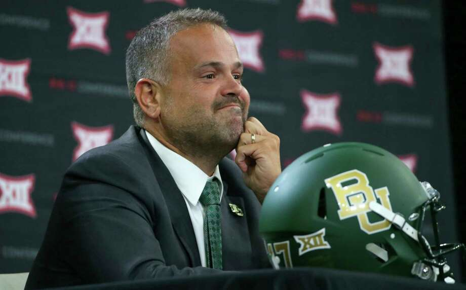 Matt Rhule will coach his first game at Baylor on Saturday against Liberty. Photo: LM Otero, Associated Press / Copyright 2017 The Associated Press. All rights reserved.