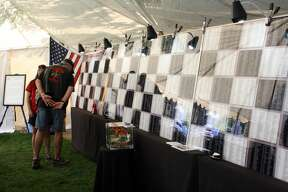 The Michigan Vietnam Veteran Traveling Memorial recently made its way to Caseville City Park.