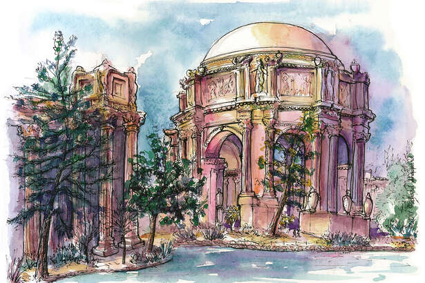 Can you guess the Bay Area location from the sketch?