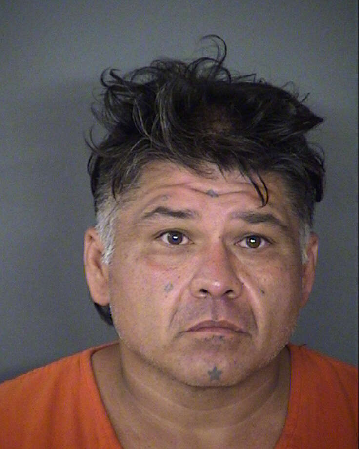 Steve Farias of San Antonio now faces a single charge of robbery. He remains in the Bexar County Jail on a $20,000 bond. Photo: Bexar County Jail