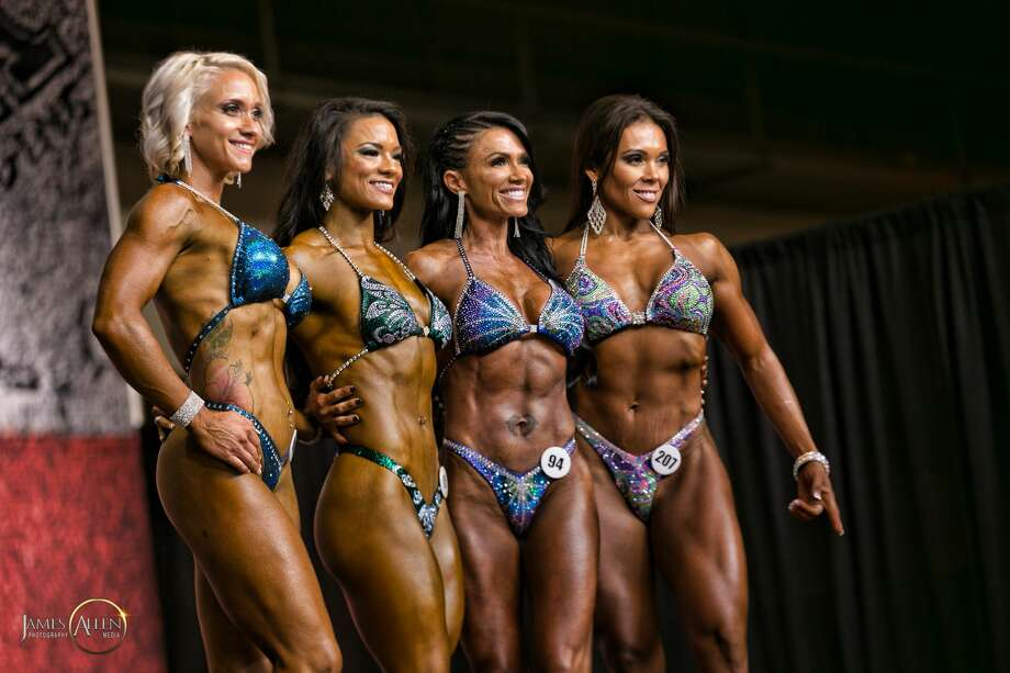 Contestants compete during the NPC Branch Warren Classic during the GASP Super Show & Expo at NRG Park on July 15, 2017. Photo: Courtesy Of Jim Allen Photography