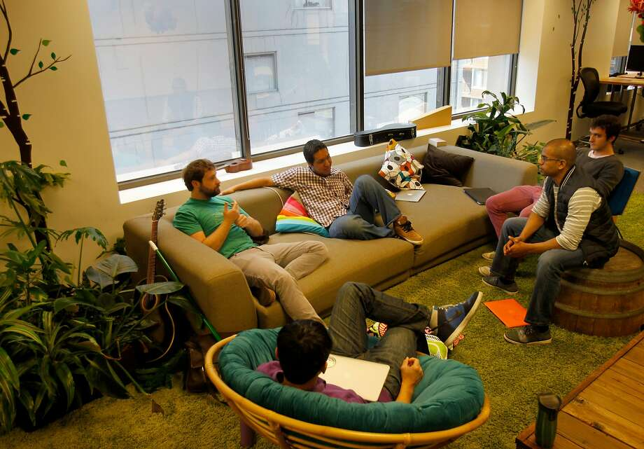 The learning environment at Dev Bootcamp for students is not unlike a high tech office. Dev Bootcamp is a hands-on nine week intensive school for computer programming in several cities including San Francisco, Calif. Photo: Brant Ward, The Chronicle