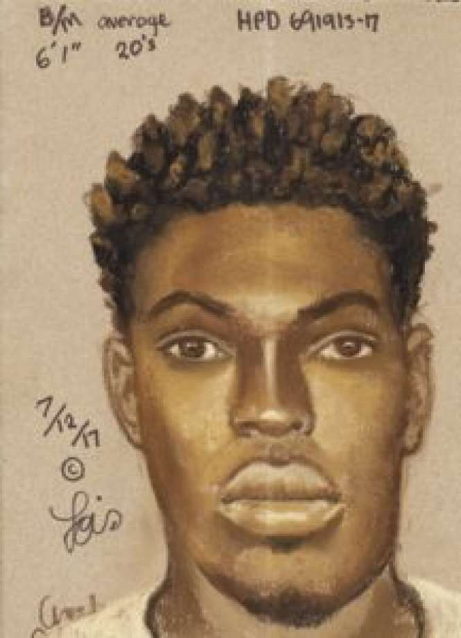 Houston Police have released a sketch of a suspect wanted in the shooting of an infant on May 22 in the Meyerland area. Photo: Lois Gibson / Houston Police Department