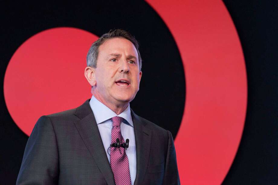 Brian Cornell, Chairman and CEO of Target, speaks to a group of investors, Wednesday, March 2, 2016 in New York. Target's annual meeting comes as the discounter is making progress in reinvigorating its business and winning back shoppers under Cornell, CEO since August 2014. (AP Photo/Mark Lennihan) Photo: Mark Lennihan, STF / AP