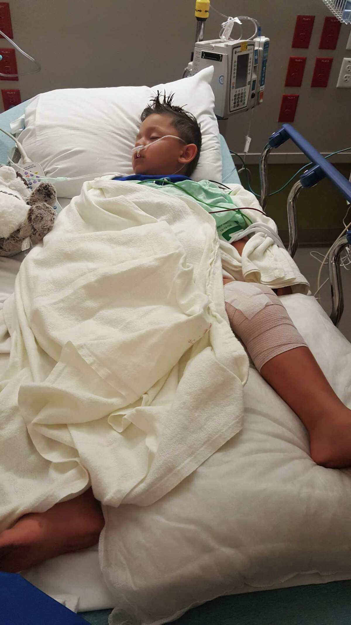 A 4-year-old La Porte boy is recovering from injuries he received July 6 when he was hit by bullet fragments from a gun accidentally discharged by Liberty County Commissioner Greg Arthur at Garner State Park. SLIDESHOW: What Texas' open carry gun law actually says