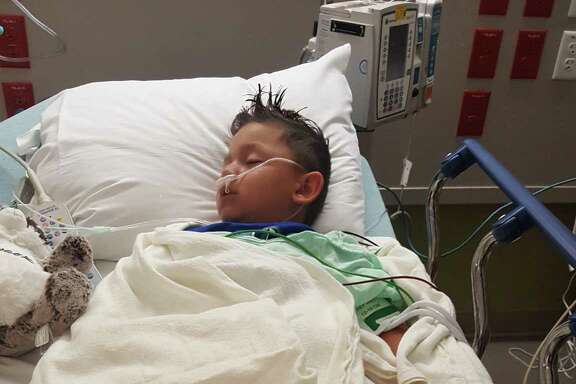 A 4-year-old La Porte boy is recovering from injuries he received July 6 when he was hit by bullet fragments from a gun accidentally discharged by Liberty County Commissioner Greg Arthur at Garner State Park.
