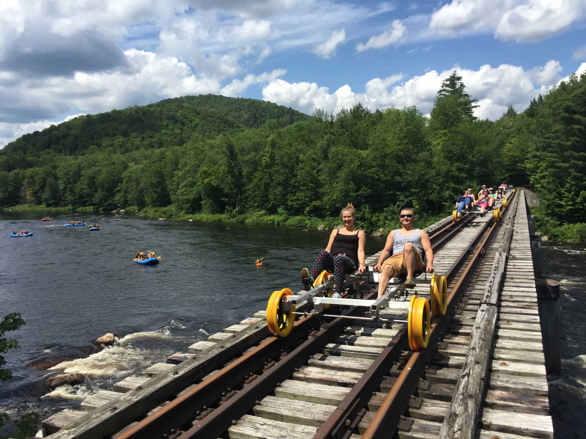 Pedaling The Rails Debuts Along Adirondack Mining Route