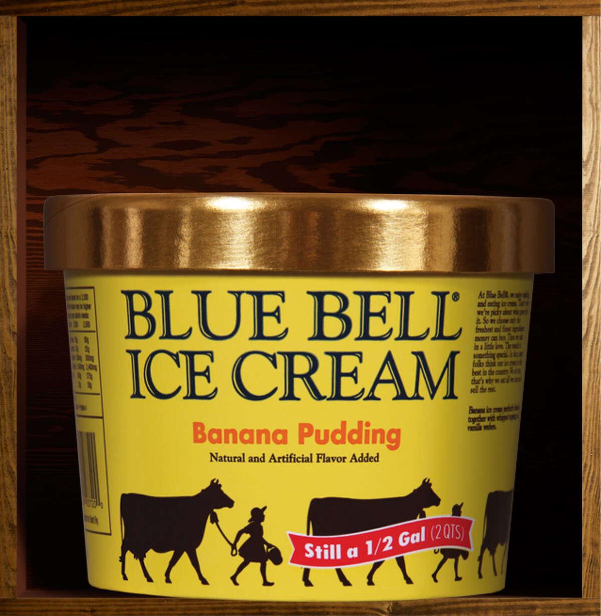 30. Banana Pudding Blue Bell description: