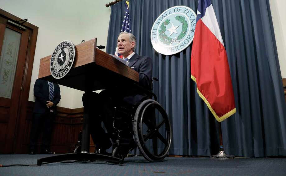 "Texas Gov. Greg Abbott announces that there will be a special session of the Texas Legislature, Tuesday, June 6, 2017, in Austin, Texas. With the special session, beginning July 18, Gov. Abbott is reviving a so-called ""bathroom bill"" targeting transgender people after the last try ended with Republican lawmakers angry and deadlocked. (AP Photo/Eric Gay) Photo: Eric Gay, STF / Copyright 2017 The Associated Press. All rights reserved."