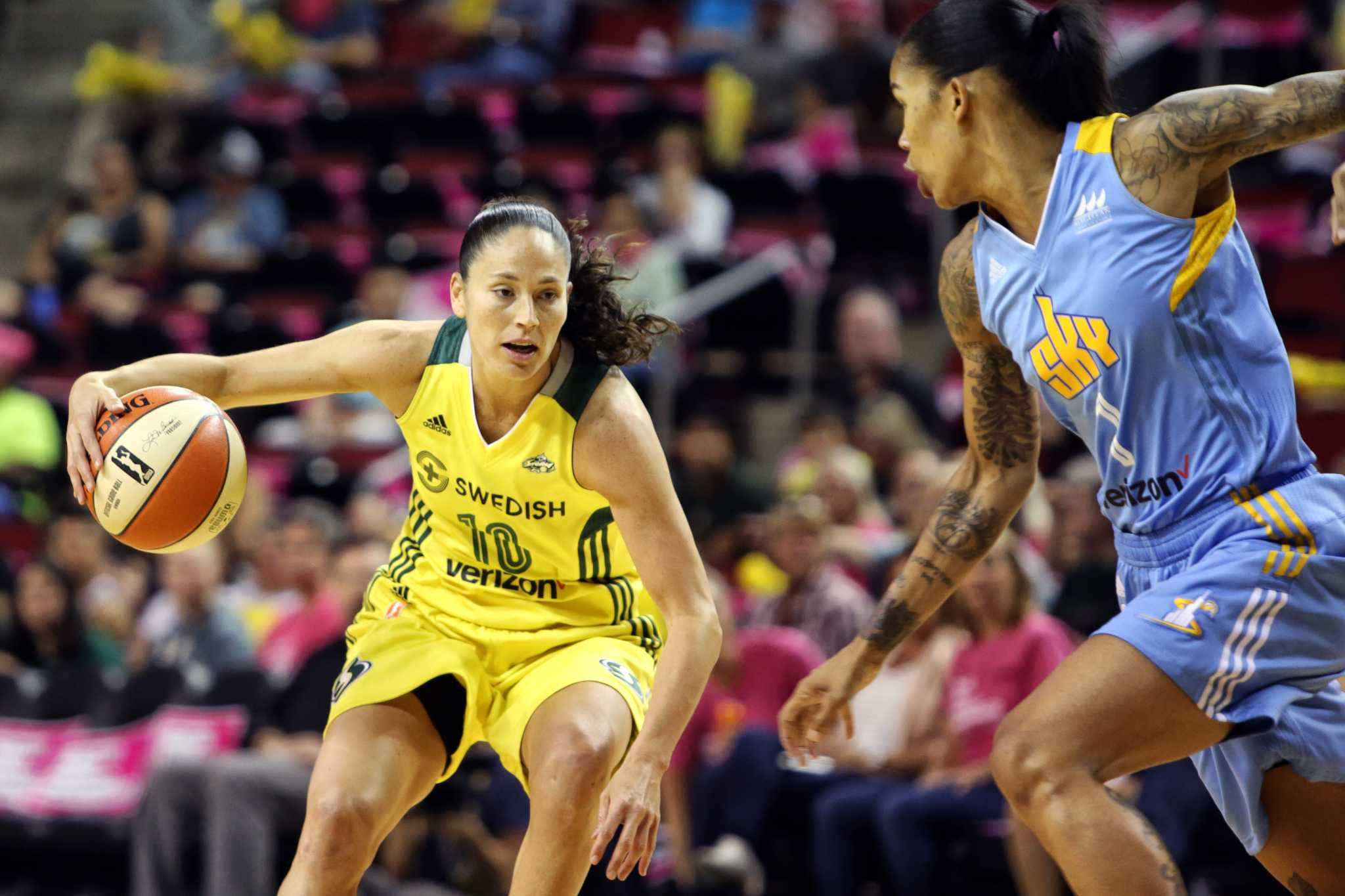 Ahead of the WNBA finals, Sue Bird has some things she