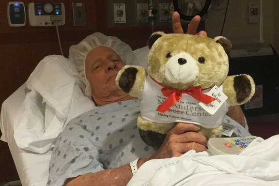 Leroy Falkenberg, receiving treatment at University of Texas MD Anderson Cancer Center.