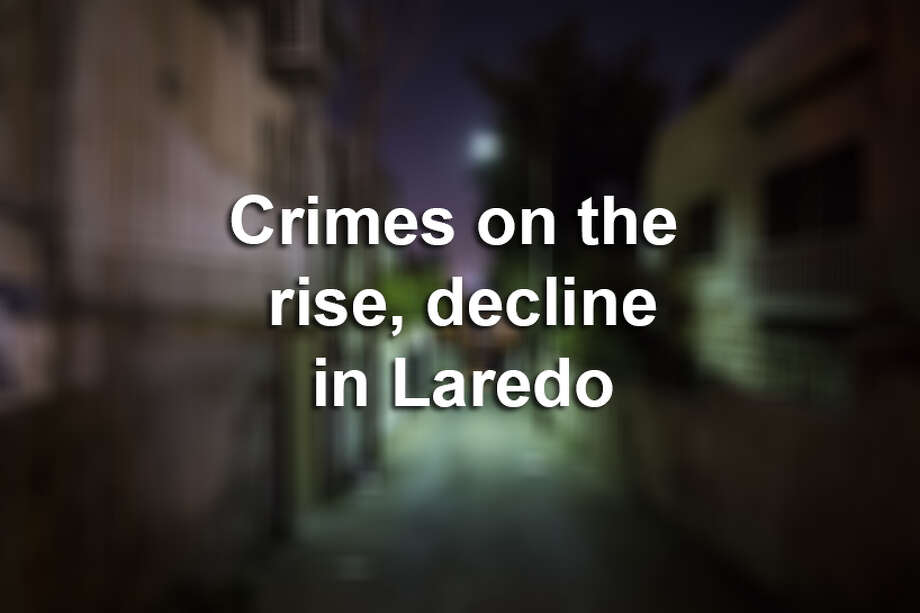 Click through this gallery to see which crimes are on the rise and decline in Laredo for 2016, according to LPD's annual report.